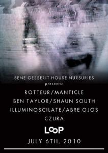 Bene Gesserit @ Loop Tues 6th July