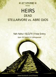 Heirs, Dead & Stellarvore vs Abre Ojos